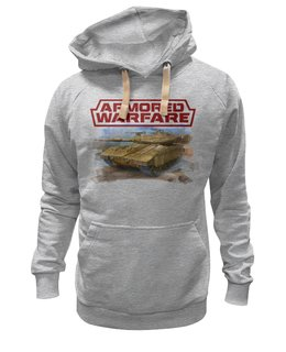 "Толстовка Wearcraft Premium унисекс ""Armored Warfare"" - игра, game, танки, aw, armored warfare"