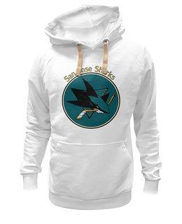 "Толстовка Wearcraft Premium унисекс ""San Jose Sharks"" - хоккей, hockey, nhl, нхл, san jose sharks, сан хосе шаркс, sharks"