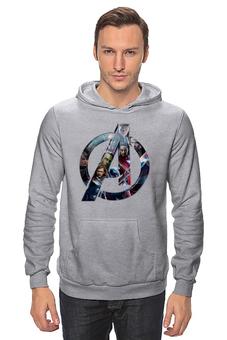 """Толстовка Wearcraft Premium унисекс """"Мстители: Эра Альтрона"""" - мстители, avengers, тор, мстители халк"""