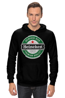 "Толстовка ""Heineken"" - пиво, beer, heineken, dutch"