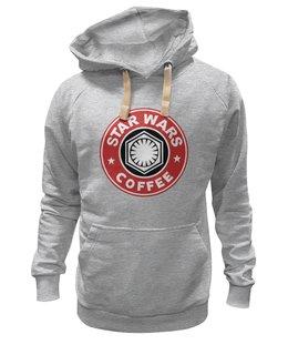 """Толстовка Wearcraft Premium унисекс """"Star Wars coffee"""" - star wars, starbucks, пробуждение силы, кайло, новый порядок"""