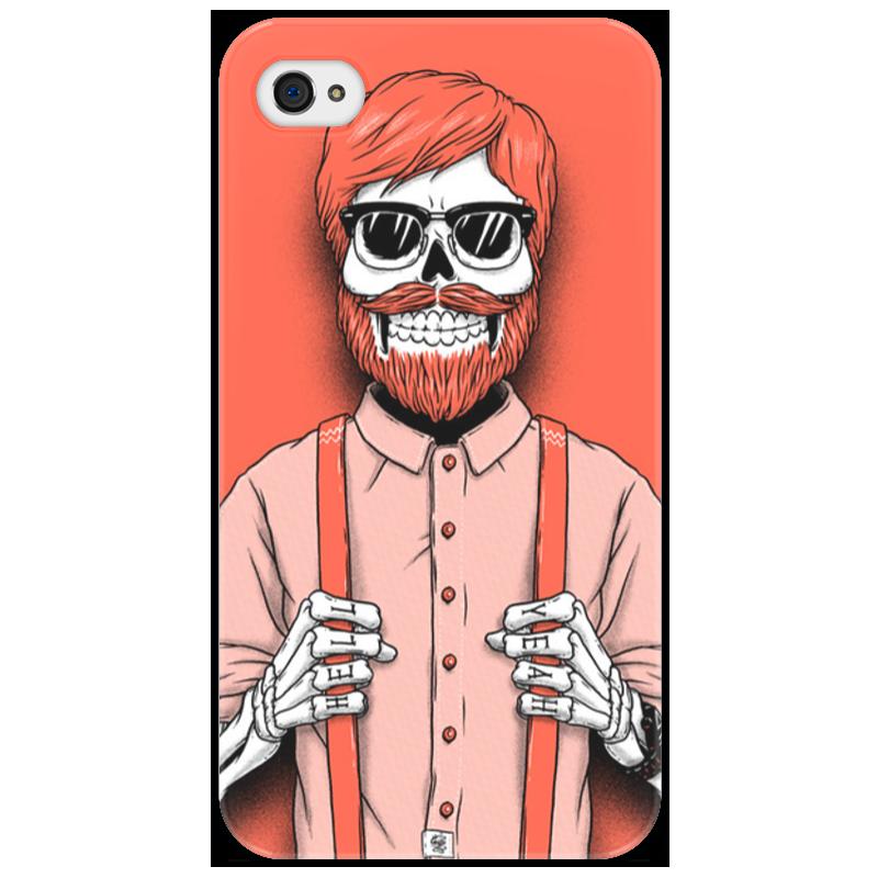 Чехол для iPhone 4/4S Printio Bones brigade футболка с полной запечаткой для мальчиков printio bones brigade