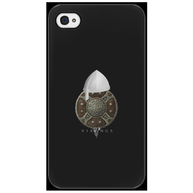 Чехол для iPhone 4/4S Printio Викинги. vikings