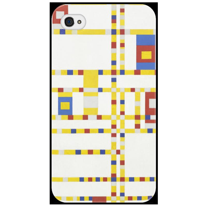 Чехол для iPhone 4/4S Printio Бродвей буги-вуги (питер мондриан) чехол для карточек пит мондриан дк2017 110