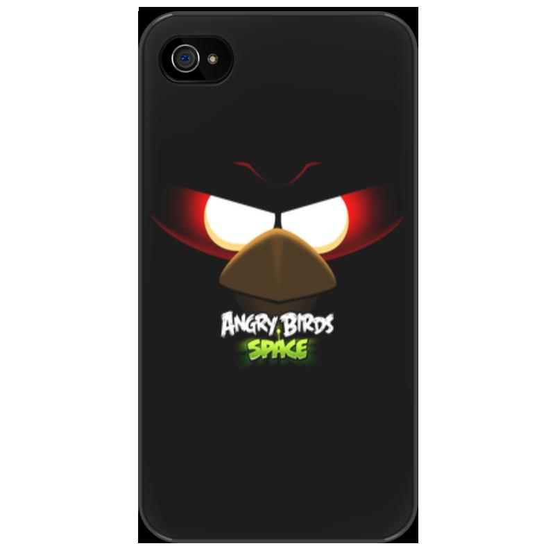все цены на Чехол для iPhone 4/4S Printio Space (angry birds)