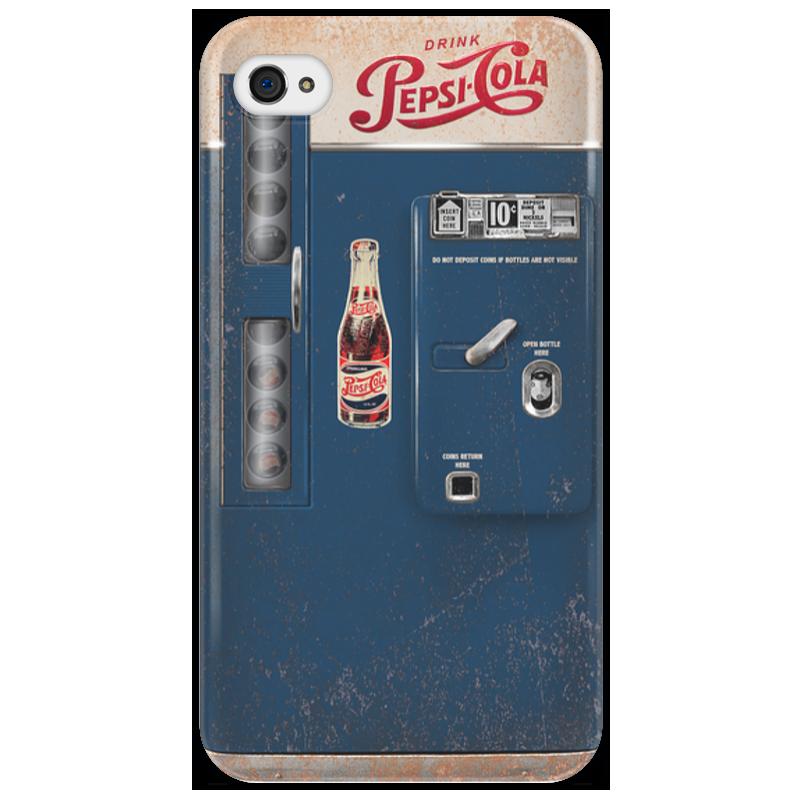Чехол для iPhone 4/4S Printio Pepsi-cola vintage vending machine