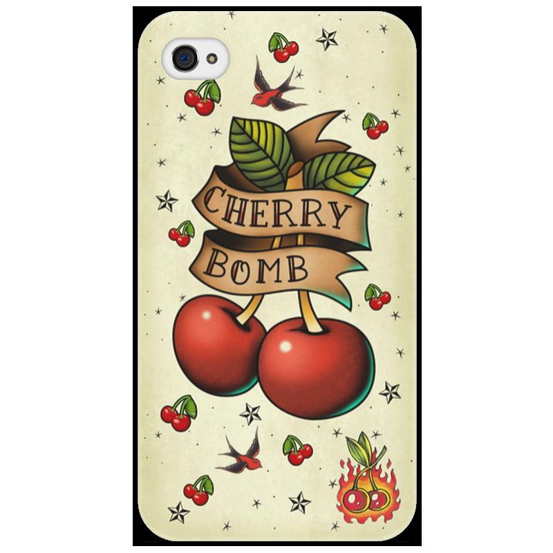 Чехол для iPhone 4/4S Printio Cherry bomb arya 4 cherry 1025577