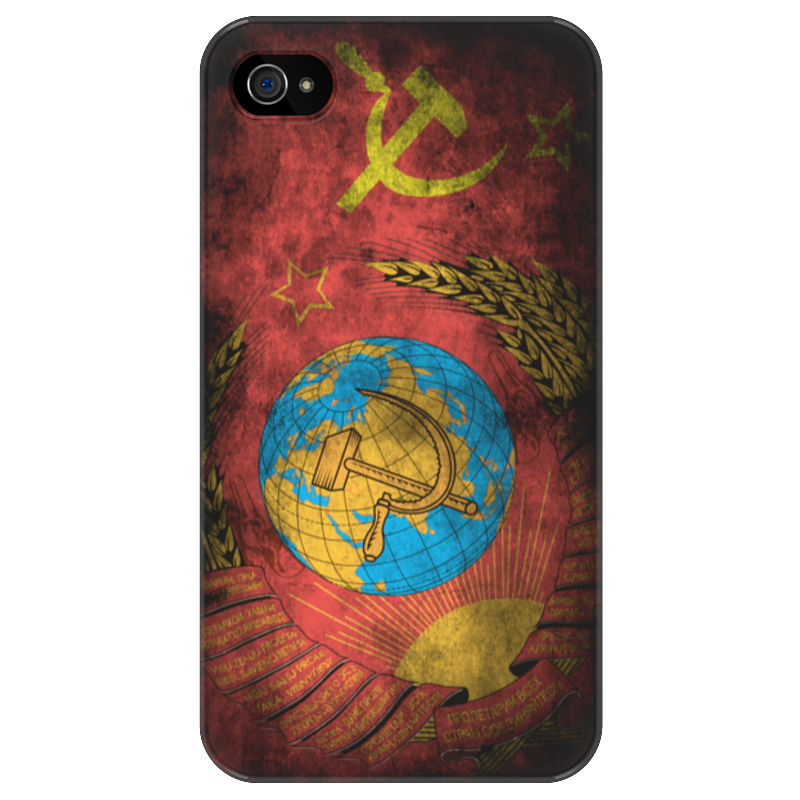 Чехол для iPhone 4/4S Printio Чехол для iphone 4/4s ссср винтаж sahar cases чехол happines iphone 4 4s