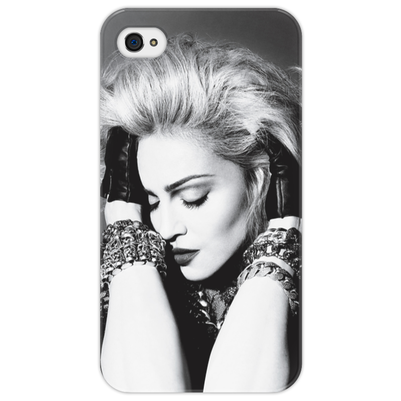 Чехол для iPhone 4/4S Printio Madonna цена