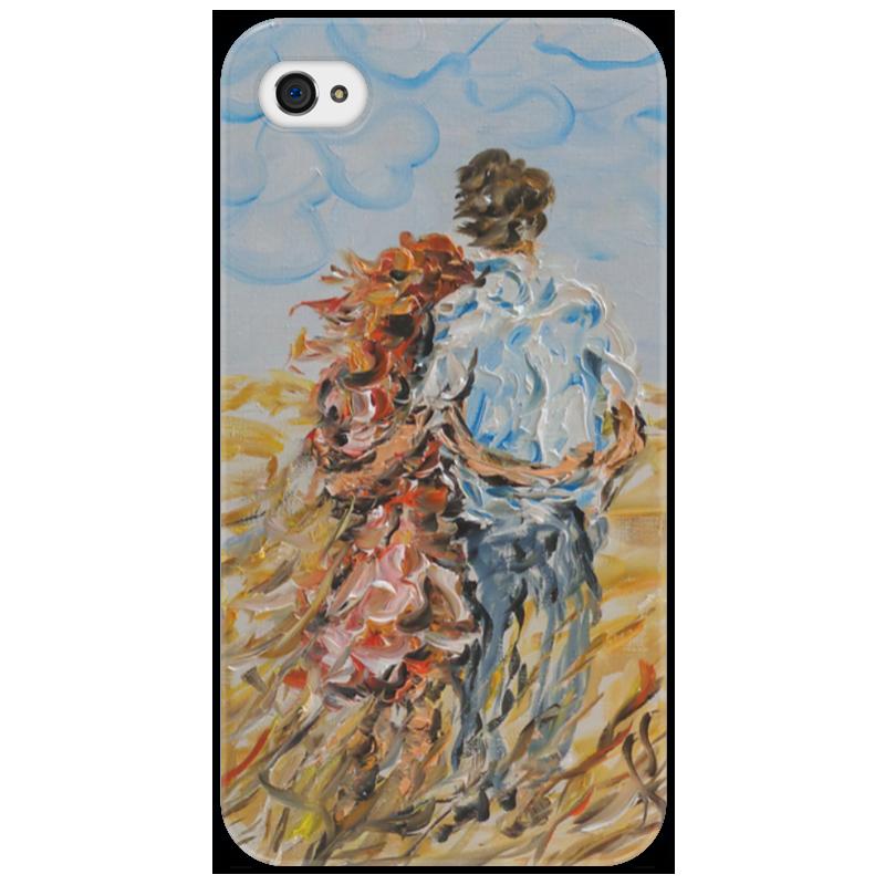 Чехол для iPhone 4/4S Printio Рыжее лето айфон 4s 8 гб дешево в москве белый