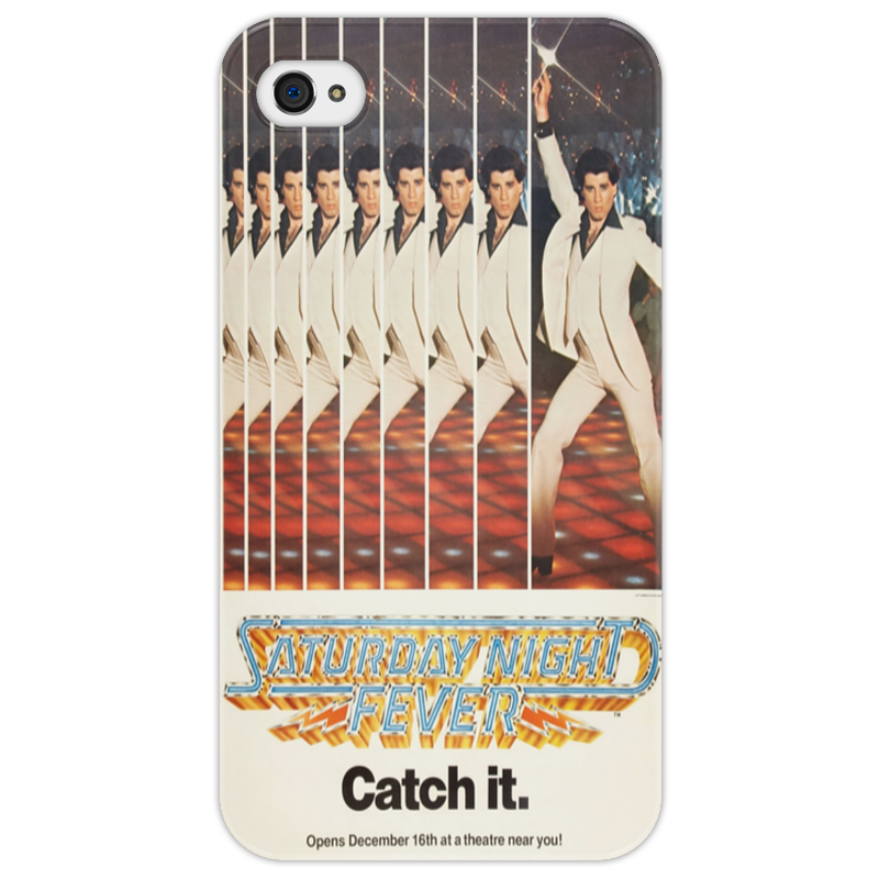 Чехол для iPhone 4/4S Printio Saturday night fever los cabos open saturday