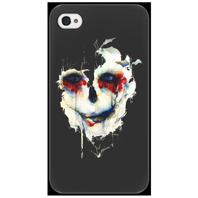 Чехол для iPhone 4/4S Printio Череп (skull) чехол для iphone 4 4s printio цветочный череп