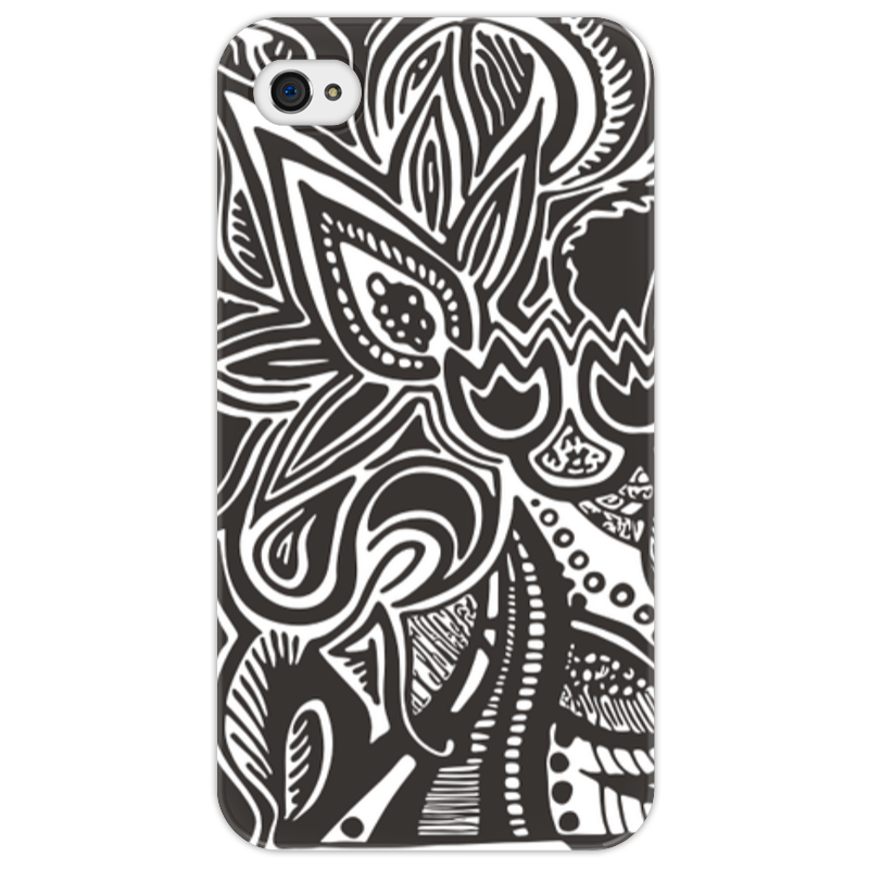Чехол для iPhone 4/4S Printio Flower cover чехол для iphone 4 4s printio чехол dokidoki precure