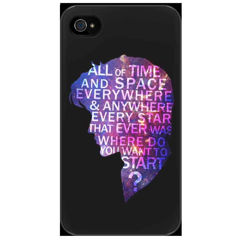Чехол для iPhone 4/4S Printio Doctor who чехол для iphone 7 глянцевый printio time lord doctor who