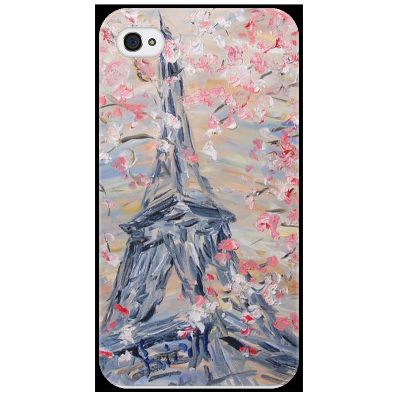 Чехол для iPhone 4/4S Printio Париж стоимость