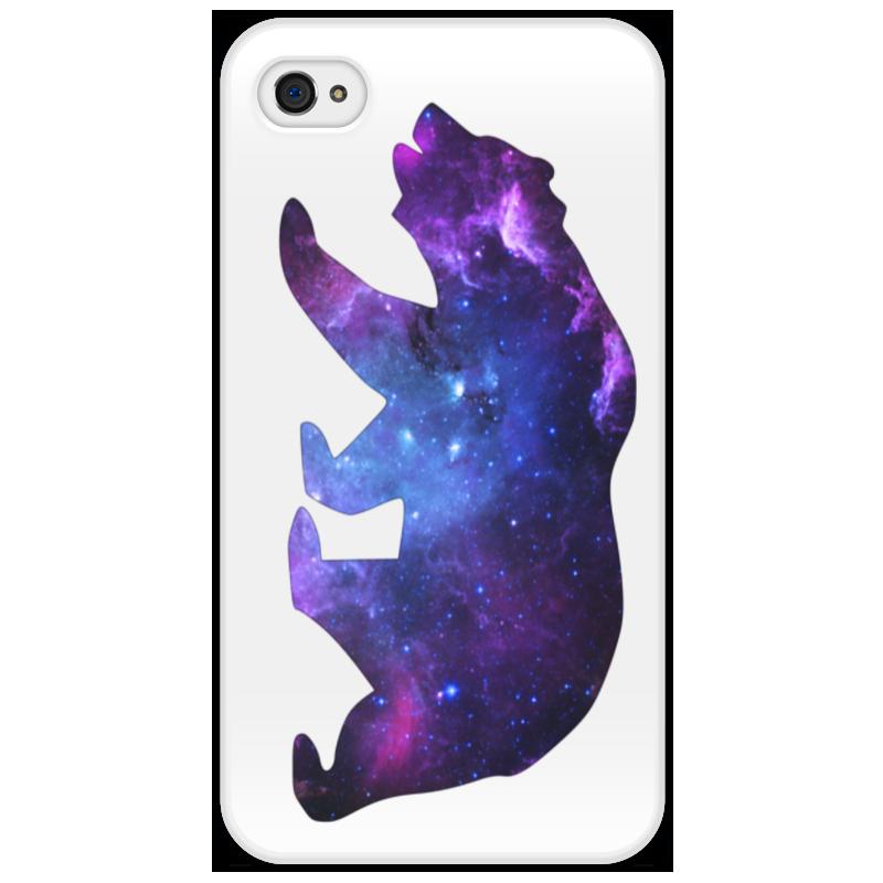 Чехол для iPhone 4/4S Printio Space animals чехол для iphone 4 iphone 4s bb mobile медведь