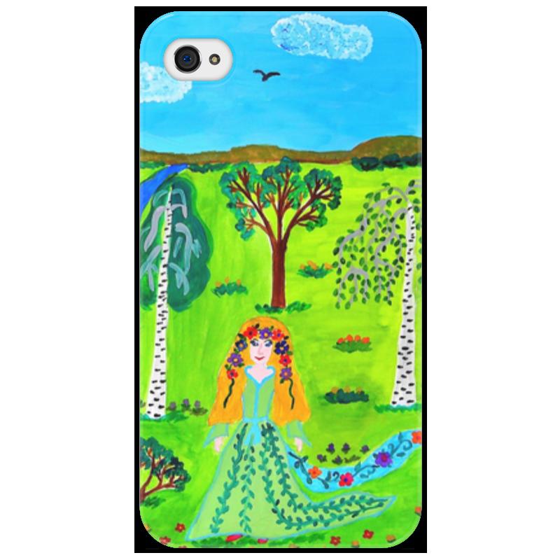 Чехол для iPhone 4/4S Printio Мир волшебства айфон 4s 8 гб дешево в москве белый