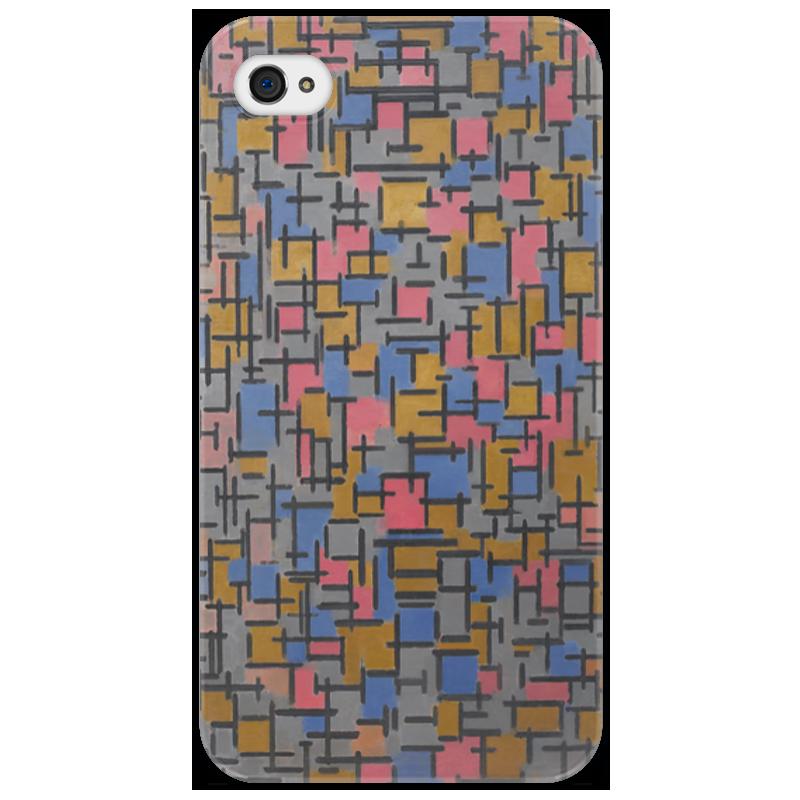 Чехол для iPhone 4/4S Printio Композиция (питер мондриан) чехол для карточек пит мондриан дк2017 110