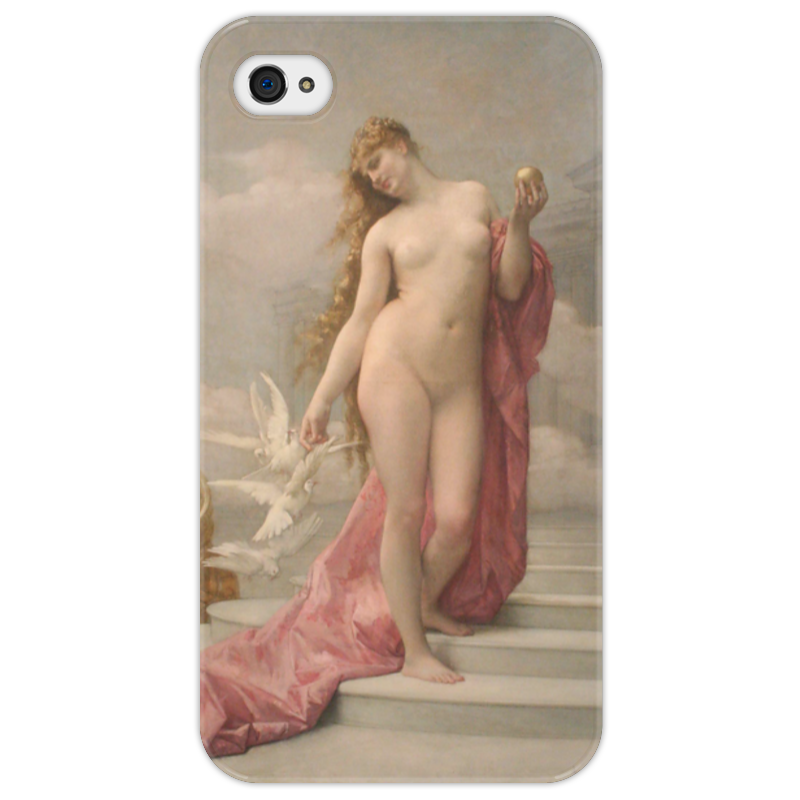 Чехол для iPhone 4/4S Printio Венера (картина кабанеля) цена