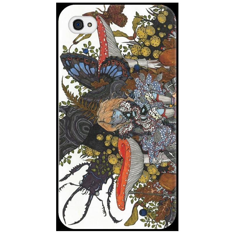 Чехол для iPhone 4/4S Printio Дюймовочка обычная кроватка счастливый малыш 008 дюймовочка тик