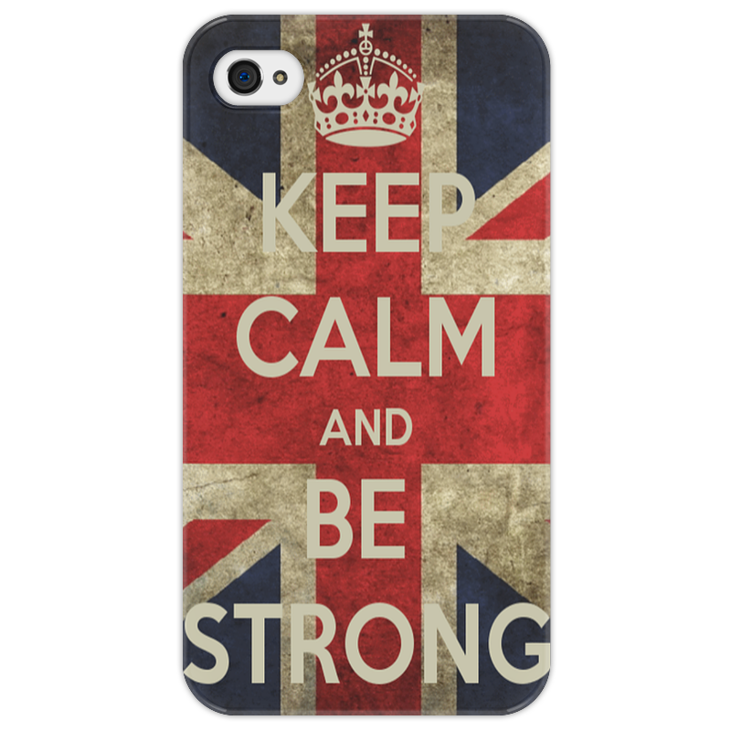 Чехол для iPhone 4/4S Printio Keep calm футболка wearcraft premium printio keep calm