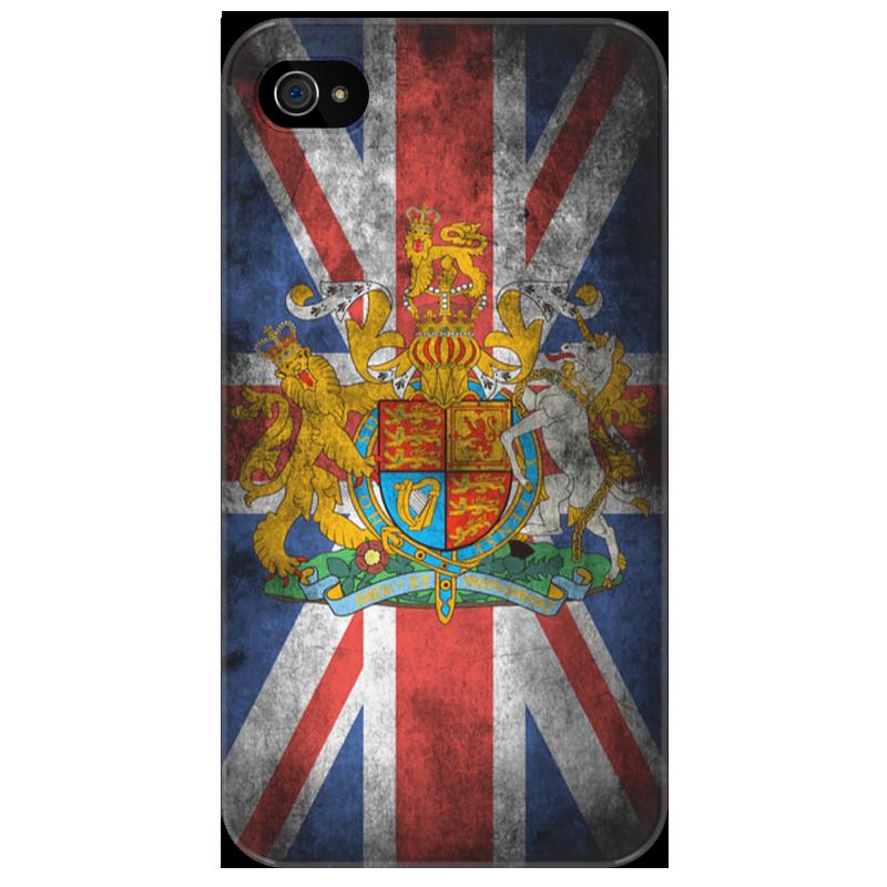 Чехол для iPhone 4/4S Printio Винтажный чехол для iphone 4/4s великобритания стоимость