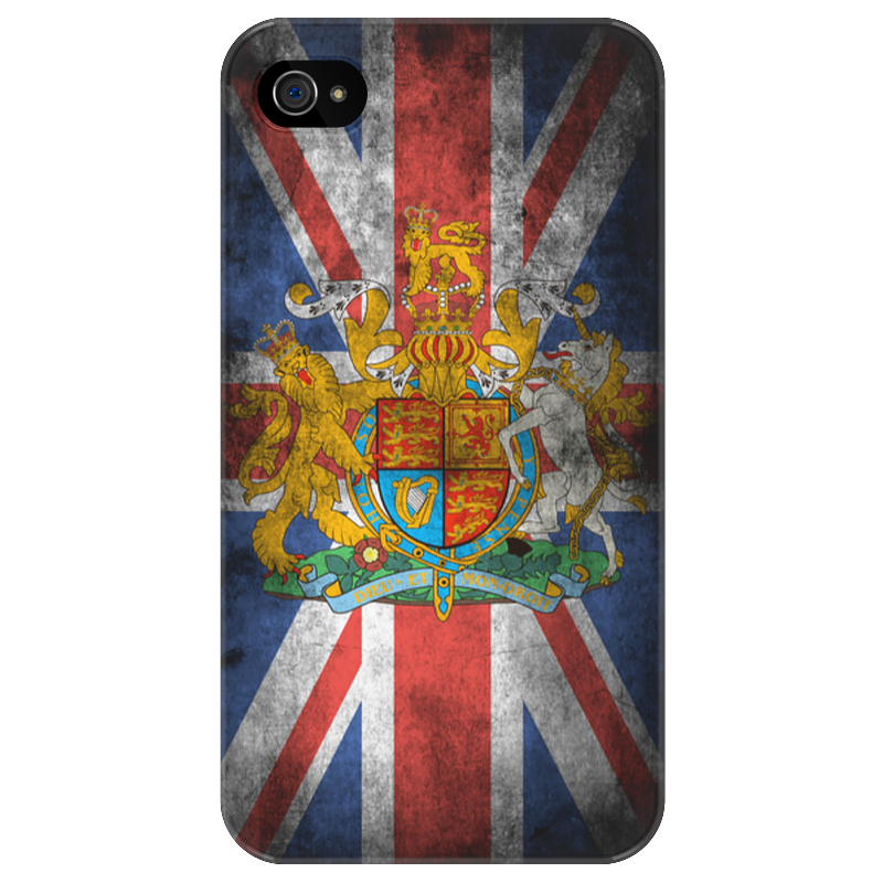 Чехол для iPhone 4/4S Printio Винтажный чехол для iphone 4/4s великобритания