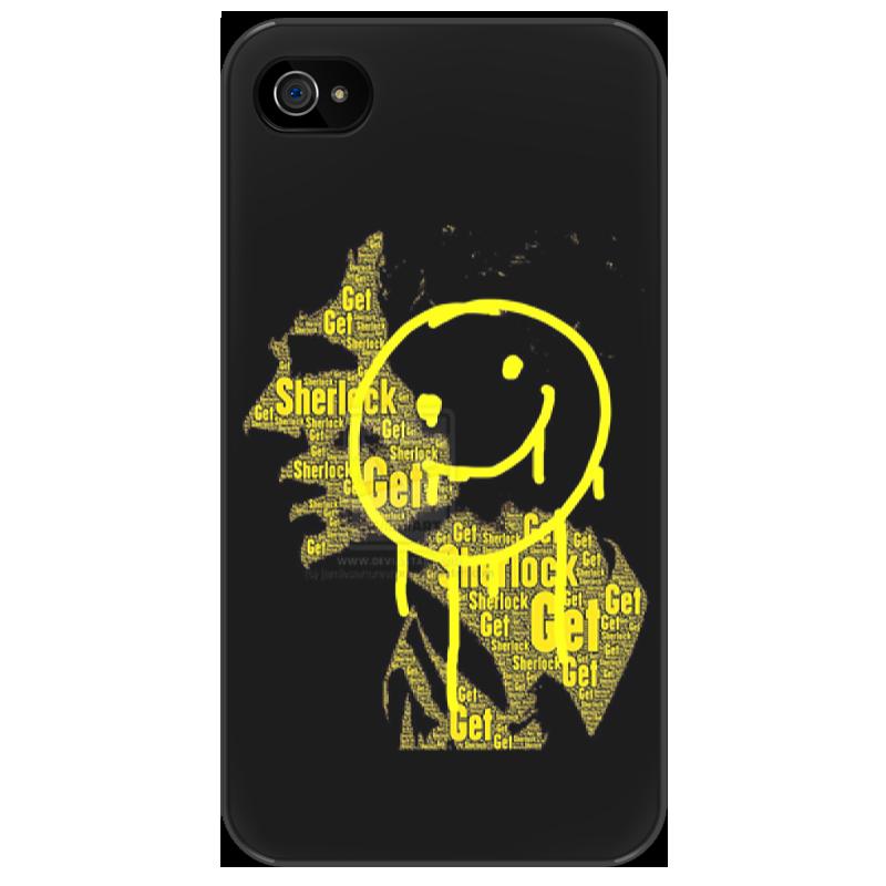 Чехол для iPhone 4/4S Printio Шерлок холмс чехол для iphone 4 4s printio bricks
