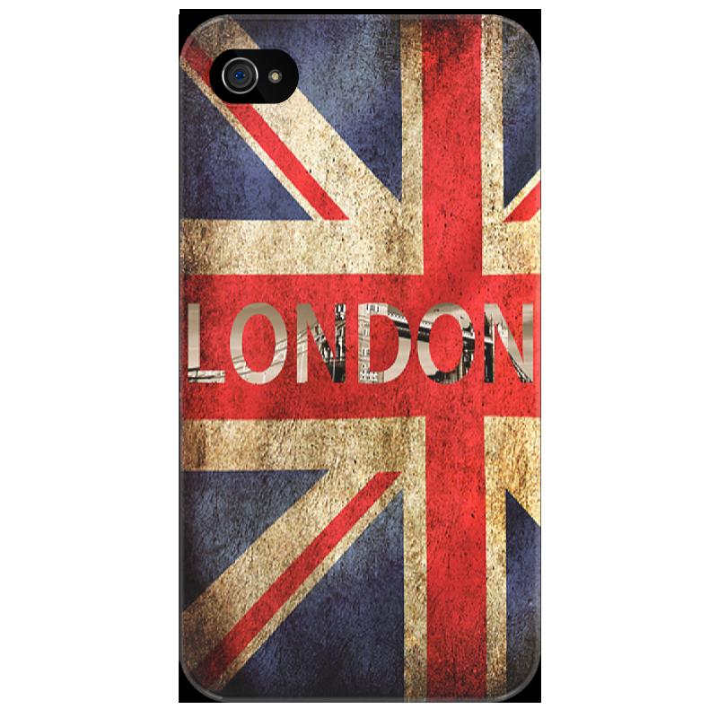 Чехол для iPhone 4/4S Printio London uk