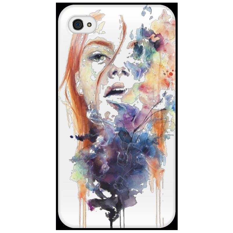 Чехол для iPhone 4/4S Printio Девушка iphone 4 18 900