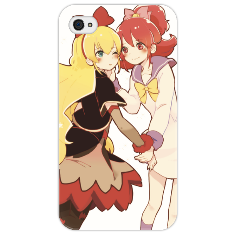Чехол для iPhone 4/4S Printio Чехол dokidoki precure чехол для iphone 4 бамбук