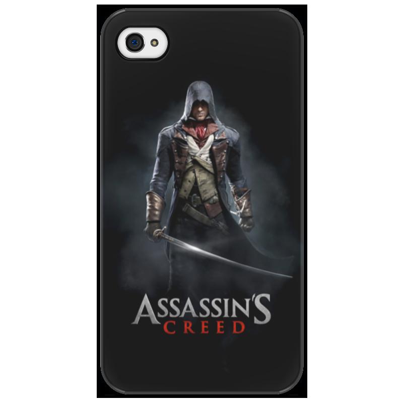 Чехол для iPhone 4/4S Printio Assassins creed (unity arno) uncanny avengers unity volume 4 red skull