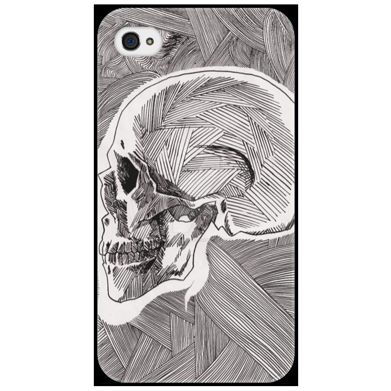 Чехол для iPhone 4/4S Printio Череп чехол для iphone 4 4s printio цветочный череп