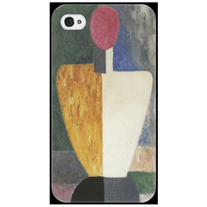 Чехол для iPhone 4/4S Printio Торс (фигура с розовым лицом) (малевич) чехол для samsung galaxy s5 printio торс фигура с розовым лицом малевич