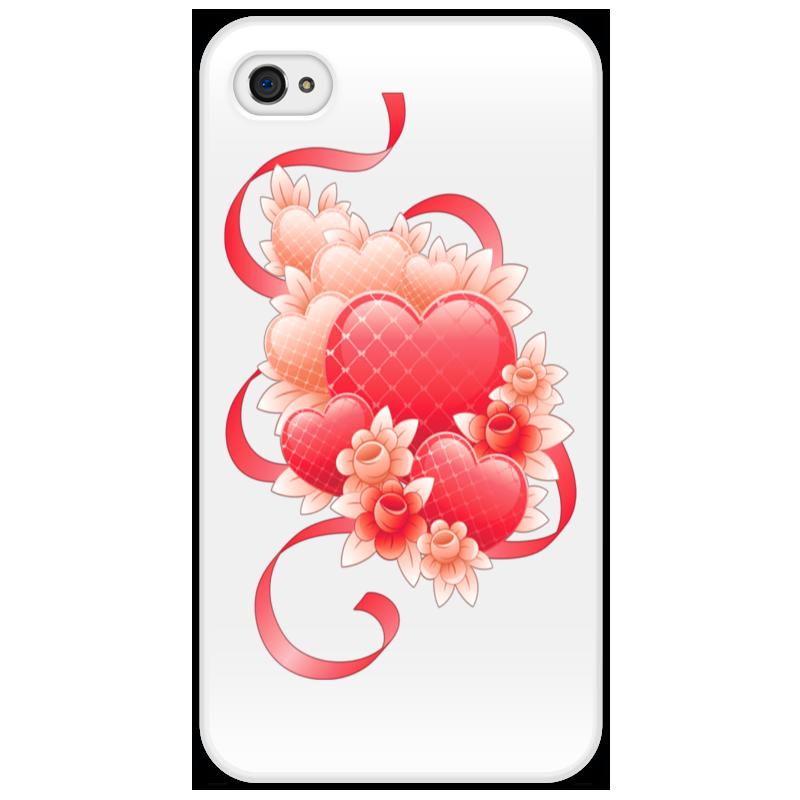 Чехол для iPhone 4/4S Printio Любимой на 14 февраля