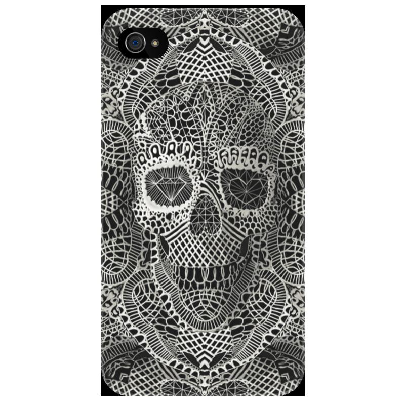 Чехол для iPhone 4/4S Printio Череп 3d чехол для iphone 4 4s printio цветочный череп