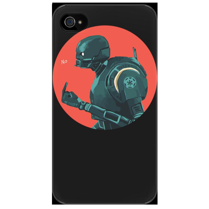 Чехол для iPhone 4/4S Printio Star wars rogue one k2so/ изгой один к2со