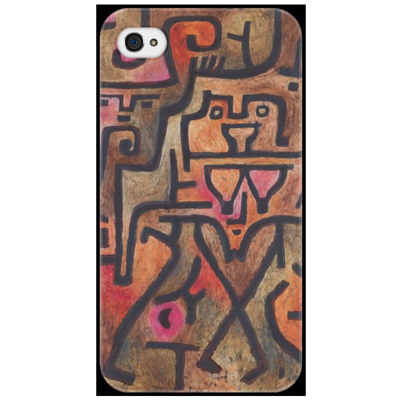 Чехол для iPhone 4/4S Printio Лесные ведьмы (пауль клее) чехол для samsung galaxy s5 printio лесные ведьмы пауль клее