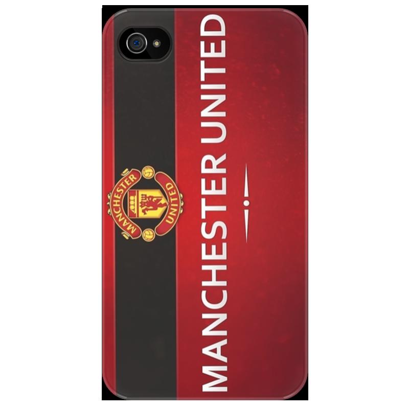 Чехол для iPhone 4/4S Printio Manchester united майка классическая printio manchester united