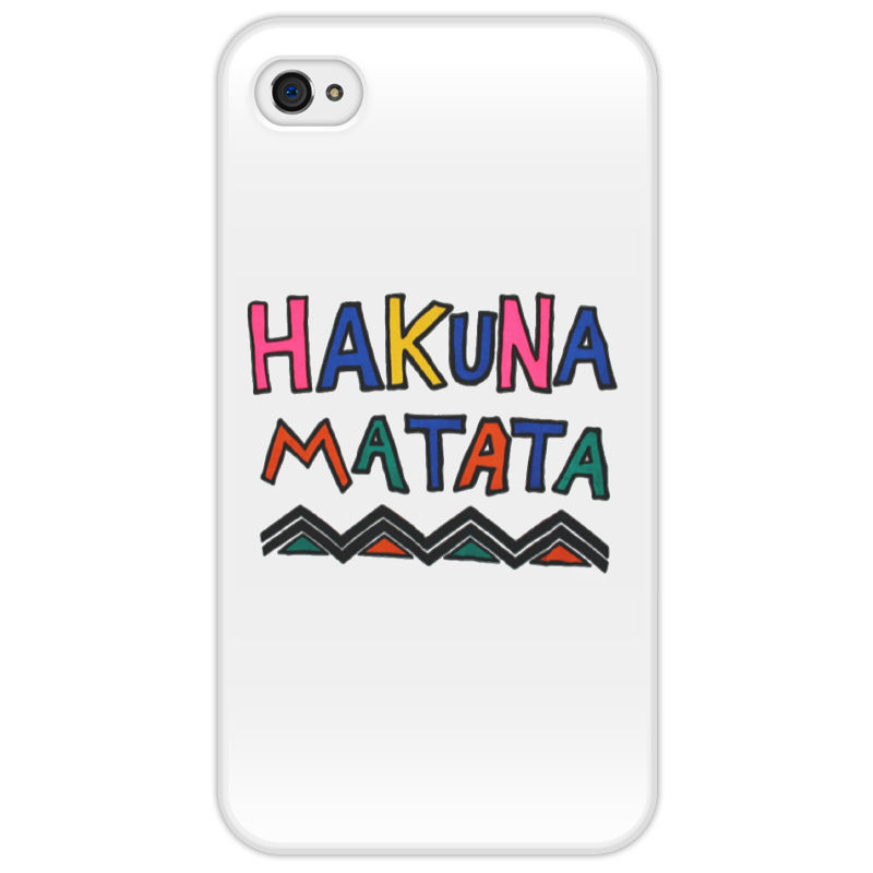 Чехол для iPhone 4/4S Printio Акуна матата король лев 3 акуна матата dvd книга