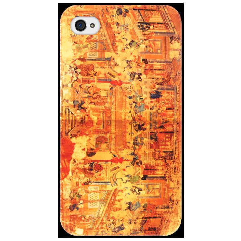 Чехол для iPhone 4/4S Printio Шаолинь оптом из китая копии iphone