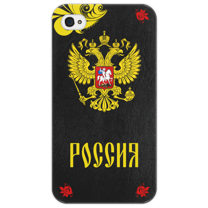 Чехол для iPhone 4/4S Printio Русский герб