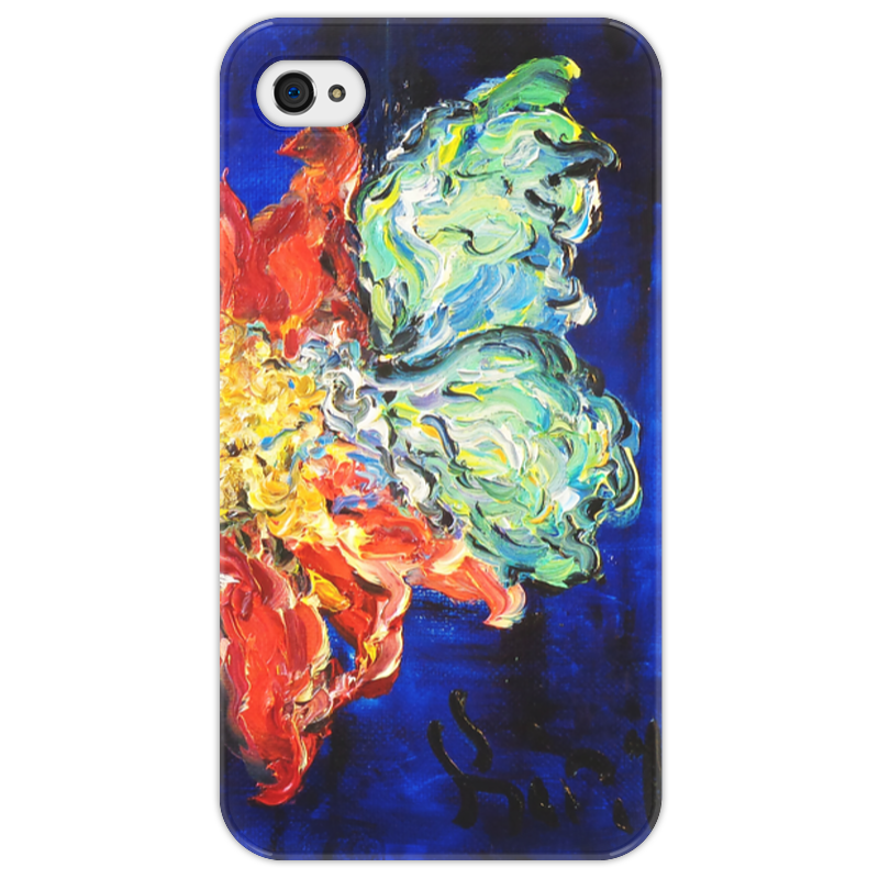 Чехол для iPhone 4/4S Printio Нектар стоимость
