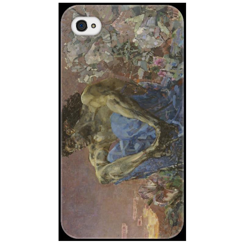 Чехол для iPhone 4/4S Printio Демон сидящий обложка для паспорта printio демон сидящий