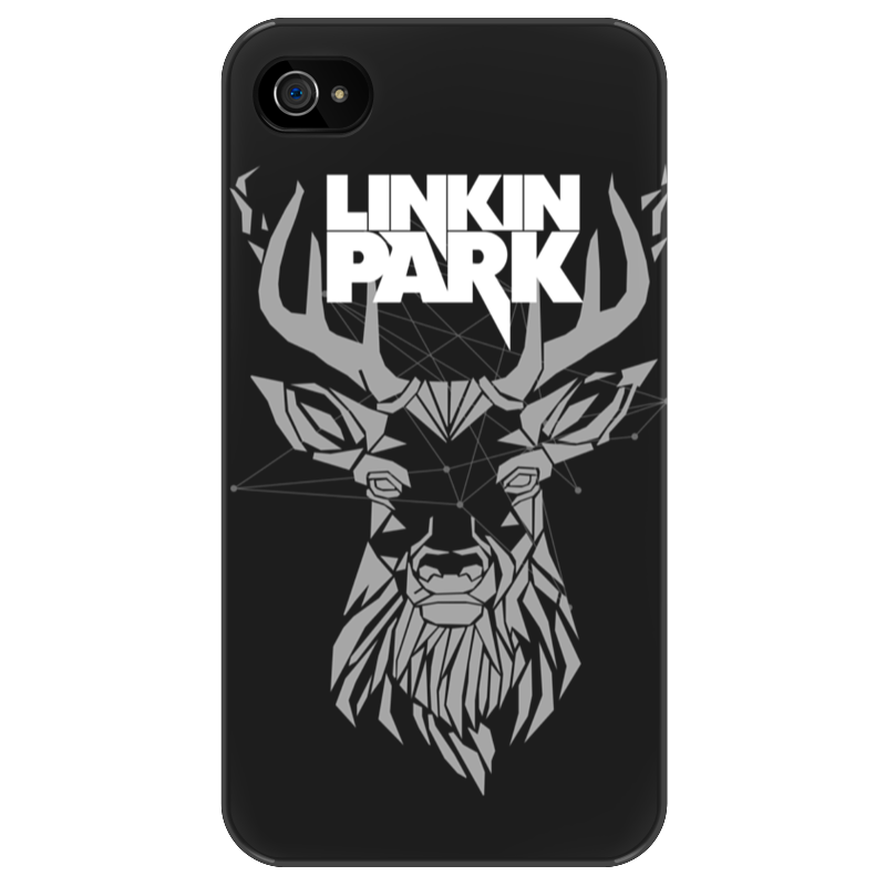 Чехол для iPhone 4/4S Printio Linkin park