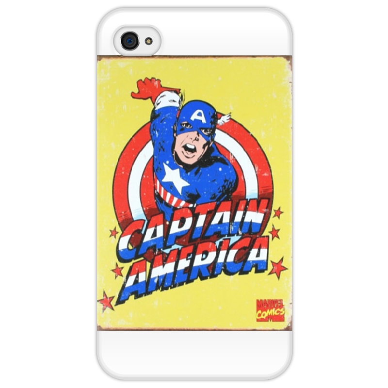Чехол для iPhone 4/4S Printio Captainamerica iphone 4 18 900