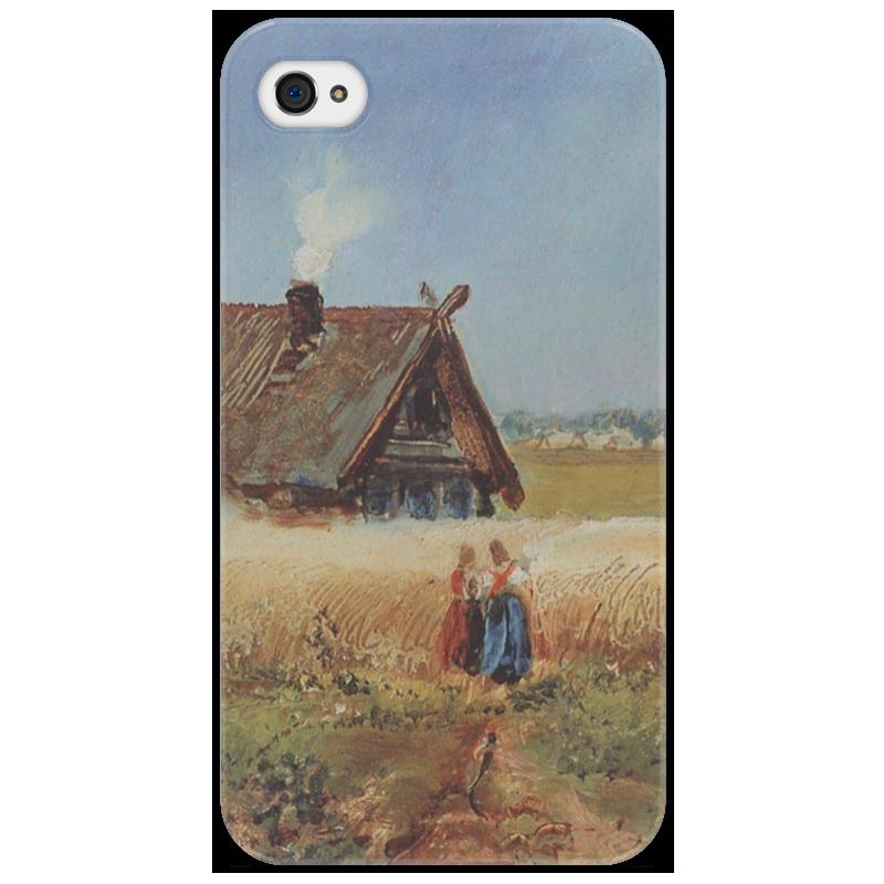 Чехол для iPhone 4/4S Printio Кутузовская изба