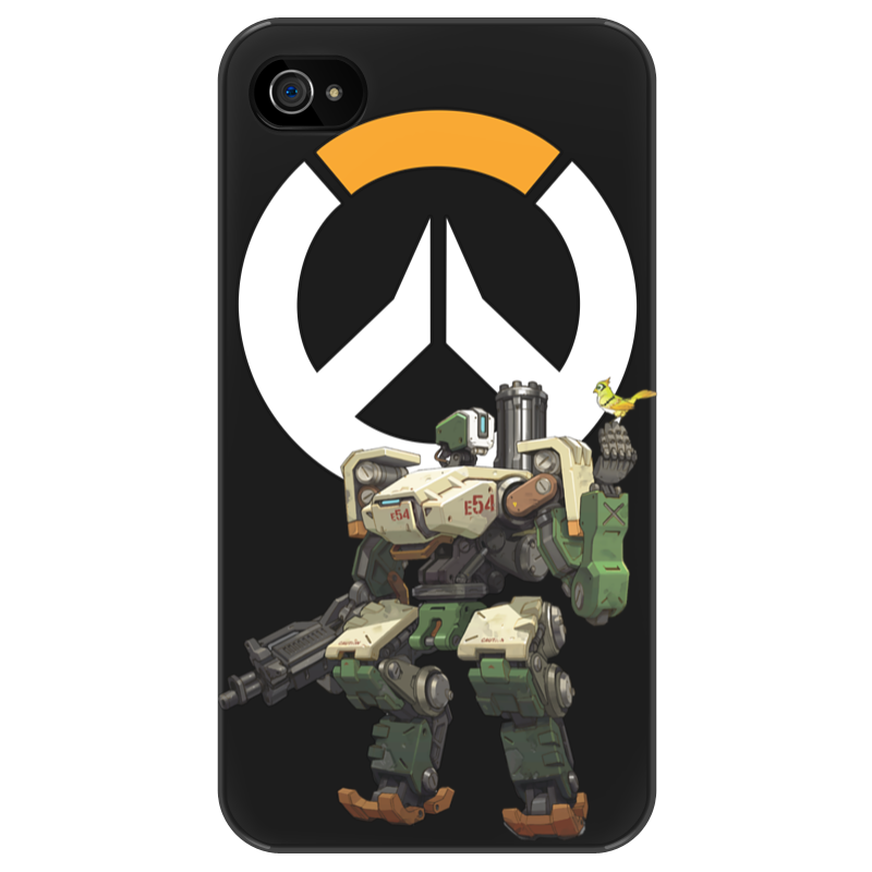 Чехол для iPhone 4/4S Printio Overwatch bastion / овервотч бастион скатерть квадратная printio overwatch bastion овервотч бастион