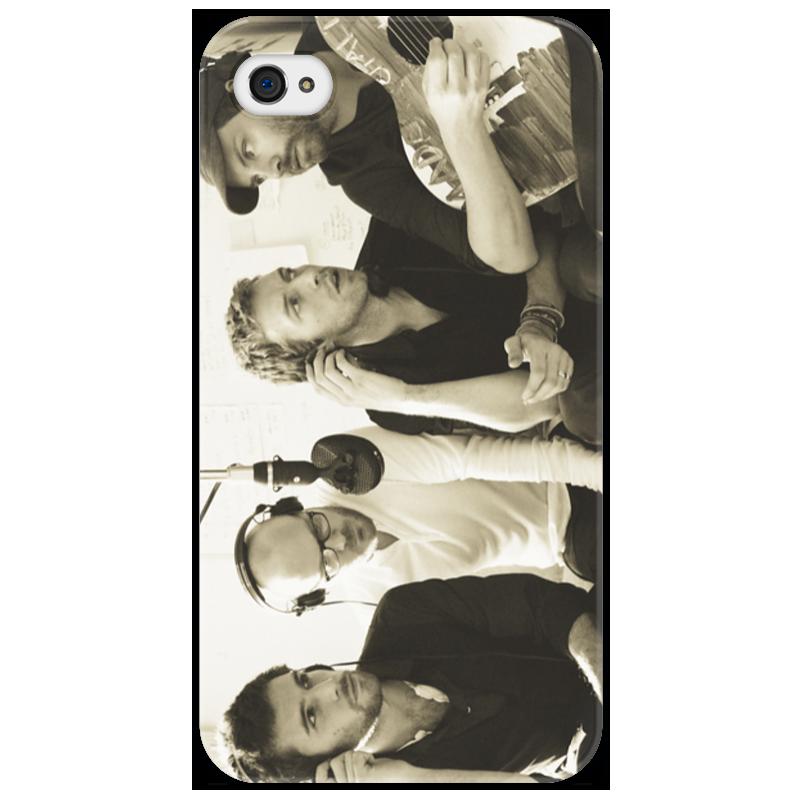 Чехол для iPhone 4/4S Printio Coldplay чехол