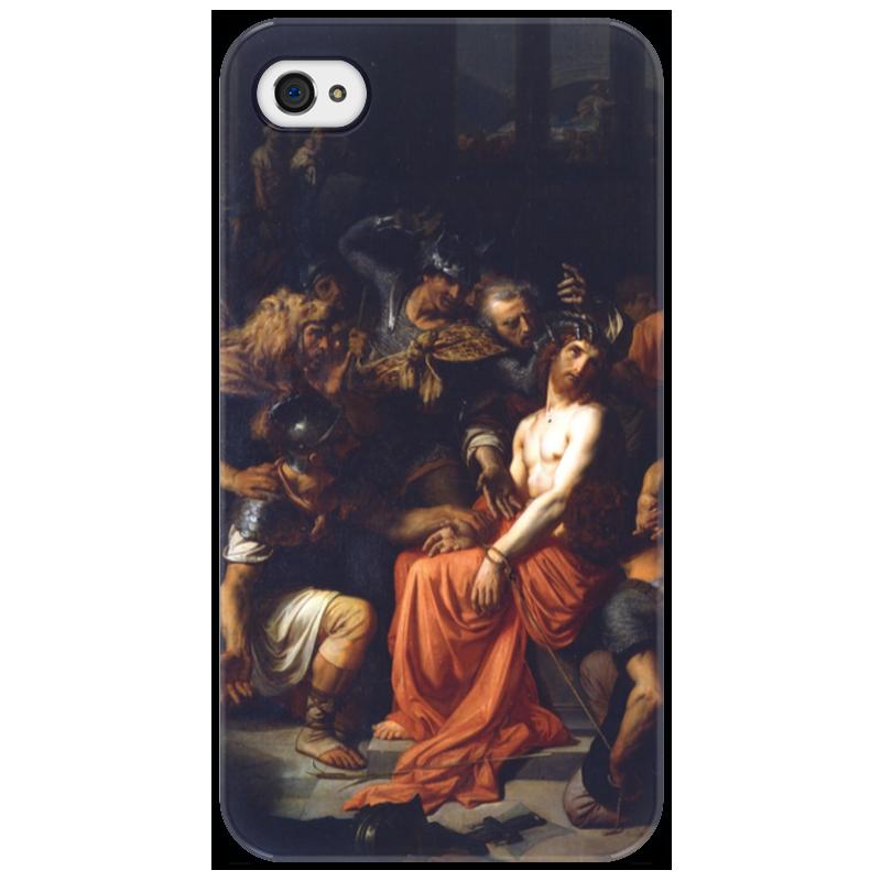 Чехол для iPhone 4/4S Printio Поругание христа (картина кабанеля) цена
